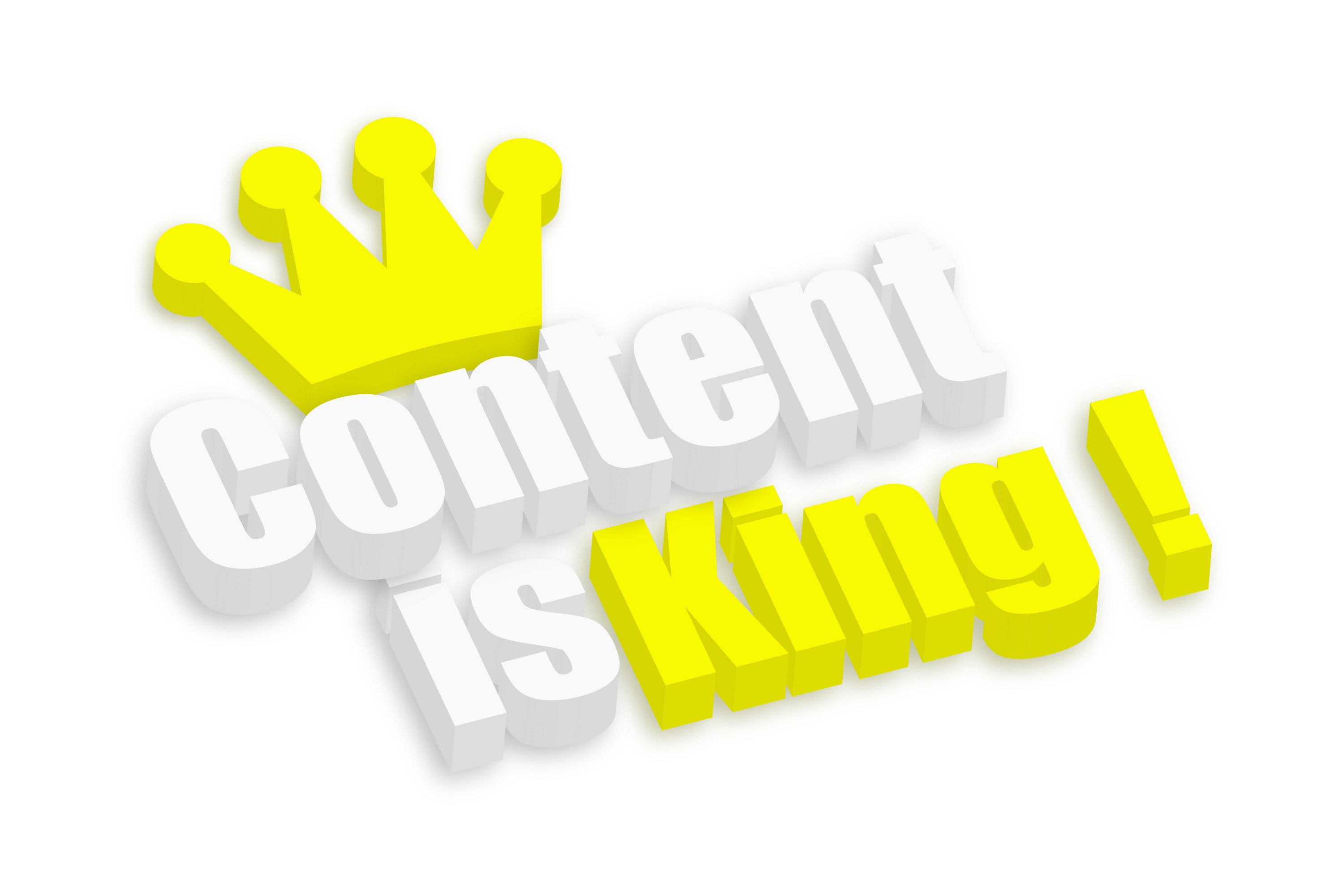 Making Content King Again