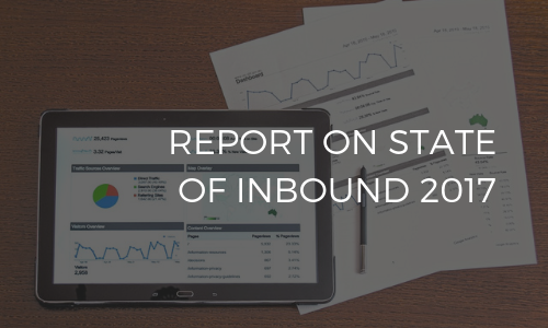 Report on State of Inbound 2017