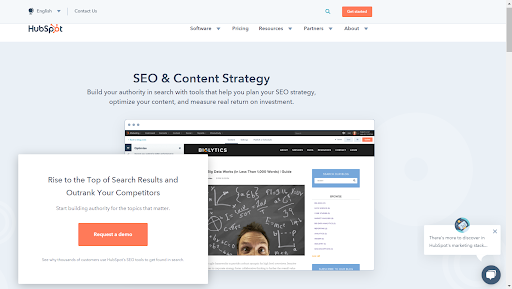 HubSpot Content Strategy and SEO Tool