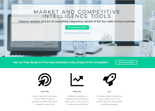 Market and Competitive Intelligence Tool - Crayon